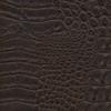 Тёмно-коричневая экокожа